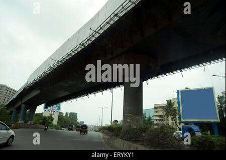 Flyover chembur mumbai Maharashtra India Asia - Stock Photo