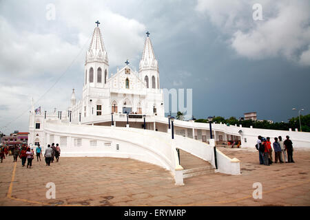Church of our lady of good health called our lady of vailankanni ; Vailankanni  Velanganni ; Nagappattinam