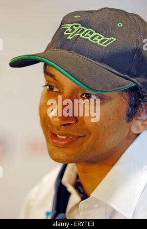 Formula one Narain karthikeyan India NOMR - Stock Photo