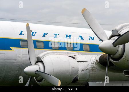 Classic Lufthansa Airplane
