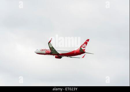 Air Berlin Airbus - Stock Photo
