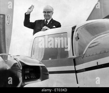 Sir John Moores CBE (25th January 1896- 25th September 1993). Businessman and philanthropist who founded Littlewoods - Stock Photo