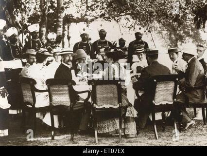 Plain tales land of open door British men ; India NO MR - Stock Photo