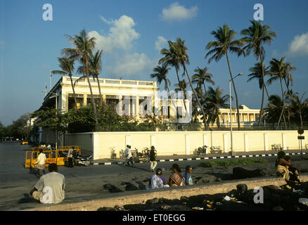 French consulate ; Pondicherry ; Tamil Nadu ; India - Stock Photo