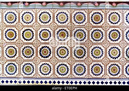 Beautiful 12X12 Floor Tiles Tiny 1930S Floor Tiles Rectangular 2 Hour Fire Rated Ceiling Tiles 2 X 4 Subway Tile Young 24 Inch Ceramic Tile Pink24X24 Drop Ceiling Tiles NATTUKOTTAI CHETTIAR HOUSE IN CHETTINAD, TAMIL NADU Stock Photo ..