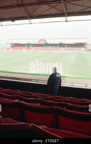 History goes under the hammer when the great Ayresome Park Auction takes place on 23rd April 1996. General views - Stock Photo