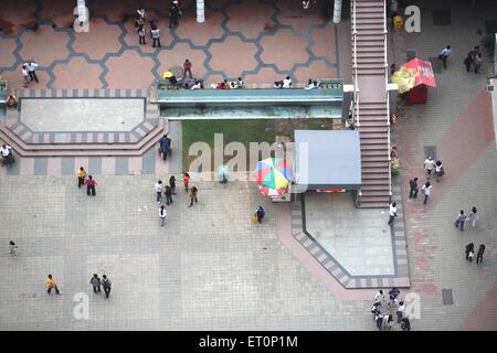 People shopping in high street phoenix at lower parel ; Bombay Mumbai ; Maharashtra ; India
