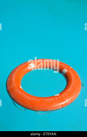 Life Buoy In Swimming Pool Life Saver Stock Photo 85816652 Alamy