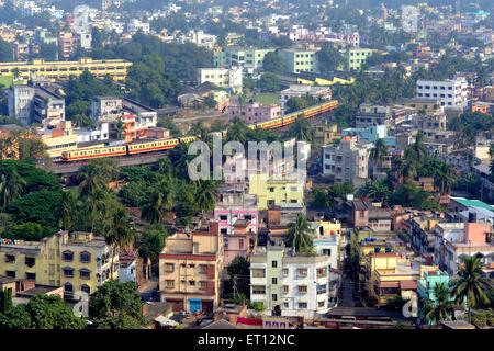 Metro train kolkata west bengal India Asia - Stock Photo