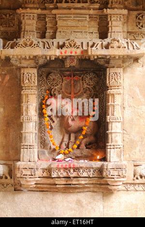 Adalaj vav at ahmedabad ; Gujarat ; India - Stock Photo