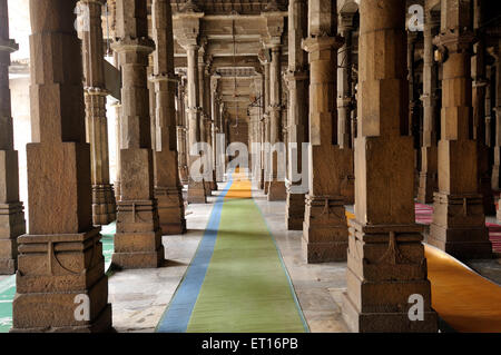 Jama Masjid Ahmedabad Gujarat India Asia - Stock Photo