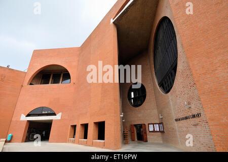 Indian Institute of Management Ahmedabad Gujarat India Asia - Stock Photo