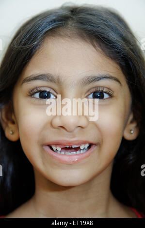 Six Years Old Indian Girl laughing MR#736L - Stock Photo