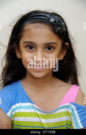 Six Years Old Indian Girl MR#736L - Stock Photo
