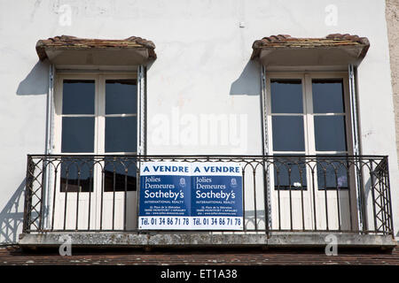 Real Estate in Paris and surrounding - Stock Photo