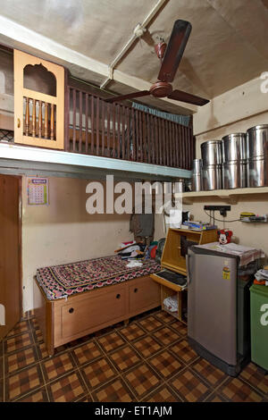 one room house with bathroom textile mill chawl mumbai