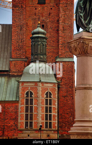 riddarholmen church Stockholm Sweden - Stock Photo