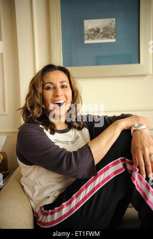 Humanitarian businesswoman diplomat meera teresa gandhi ; India NO MR - Stock Photo