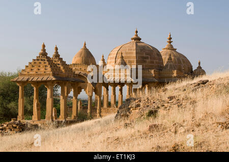 bada bagh jaisalmer rajasthan India Asia - Stock Photo