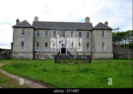 Buncrana Castle, Buncrana, County Donegal, Ireland Colonel George Vaughan between 1716-18. - Stock Photo