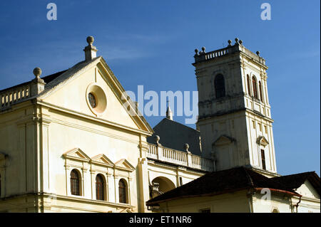 Se cathedral ; Old Goa ; India - Stock Photo