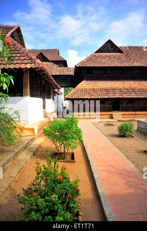 padmanabhapuram palace at tamil nadu india Asia - Stock Photo