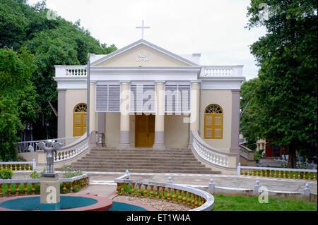 St Johns Church Vellore Fort Tamilnadu India Asia - Stock Photo