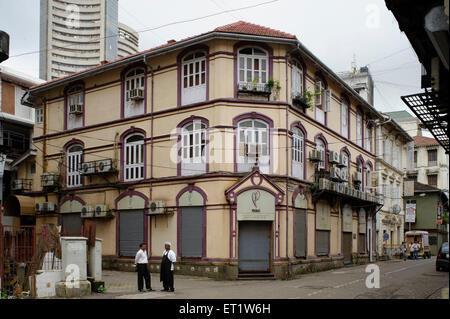 Jatia Chambers Fort Mumbai Maharashtra India Asia - Stock Photo