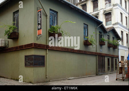 Old Building in Fort at Mumbai Maharashtra India Asia - Stock Photo