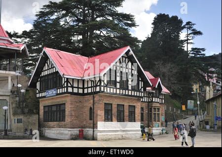 State Library in Shimla at Himachal Pradesh India Asia - Stock Photo