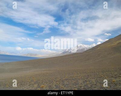 Pangong Lake ; Ladakh ; Jammu And Kashmir ; India ; Asia MR#477 - Stock Photo
