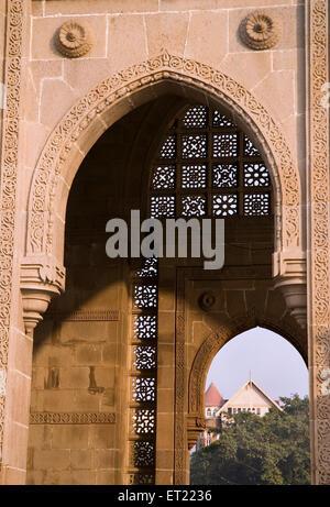 Gateway of India ; Bombay Mumbai ; Maharashtra ; India