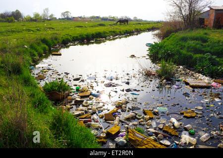Dead river - Stock Photo