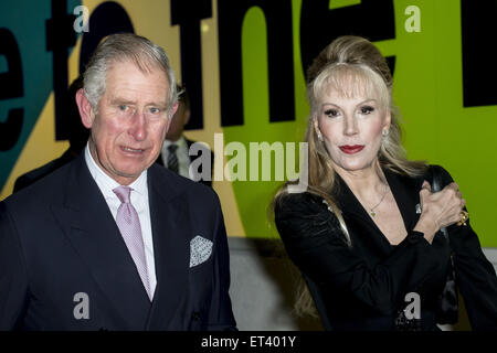 The Prince of Wales and Princess Donatella Flick attend a ...