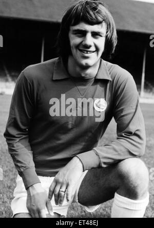 Alan Warboys, Cardiff City Football Player, 1970 - 1972. Pictured, August 1971. - Stock Photo