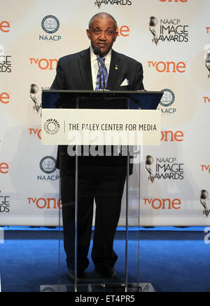 46th NAACP Image Awards - Nomination Announcement and Press Conference  Featuring: Guest Where: Beverly Hills, California, - Stock Photo