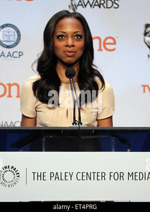 46th NAACP Image Awards - Nomination Announcement and Press Conference  Featuring: Nischelle Turner Where: Beverly - Stock Photo