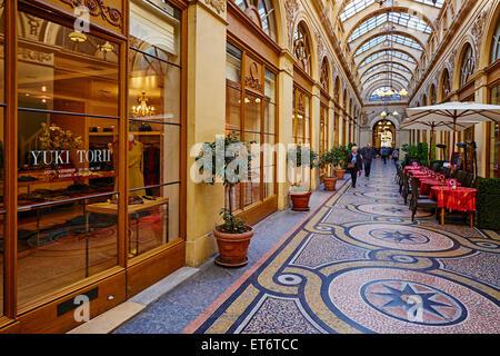 France, Paris, Vivienne galerie - Stock Photo