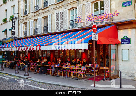 Cafe Le Saint Germain Paris France Stock Photo Royalty