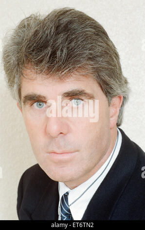 Max Clifford, Publicist, 31st March 1989. - Stock Photo