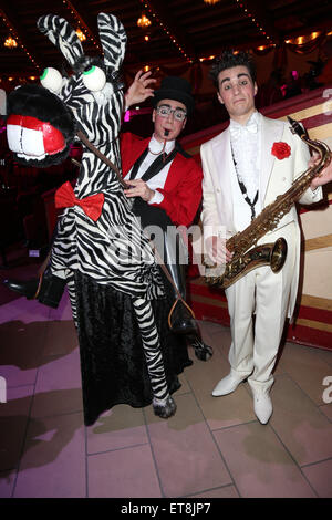 Premiere of the winter program of circus Krone  Featuring: Clowns Where: Munich, Germany When: 26 Dec 2014 Credit: - Stock Photo