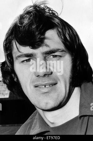 Alan Warboys, Cardiff City Football Player, 1970 - 1972. Pictured, July 1972. - Stock Photo
