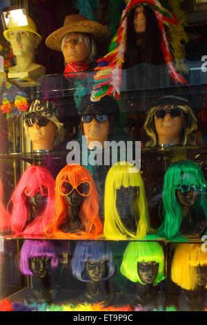 Paris, France, Peru corners in a shop window - Stock Photo