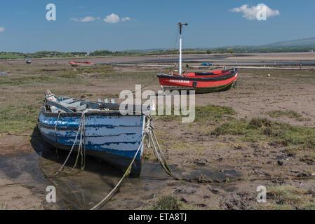Boats at Sunderland Point - Stock Photo