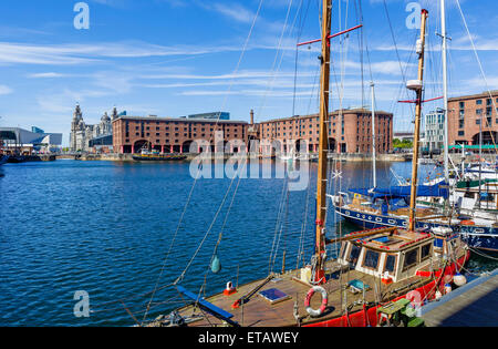 Albert Dock, Liverpool, Merseyside, England, UK - Stock Photo