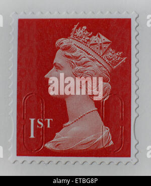 English First class Stamp. - Stock Photo