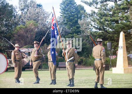 Sydney, Australia. 13th June, 2015. 10th Year of the Avalon Beach Military Tattoo for Australian Defence Forces - Stock Photo