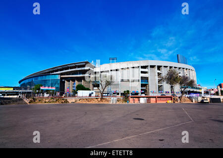 Nou Camp (1957), F.C. Barcelona stadium. Barcelona. - Stock Photo