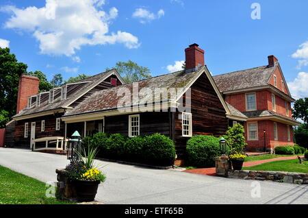 Dilworthtown, Pennsylvania: Colonial-era wooden Innkeeper\'s ...