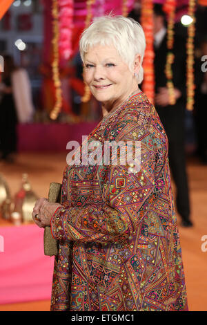 'The Second Best Exotic Marigold Hotel' Premiere - Arrivals  Featuring: Dame Judi Dench Where: London, United Kingdom - Stock Photo